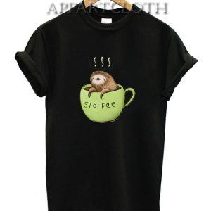 Sloffee Sloth Funny Shirts