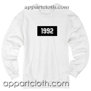 1992 Unisex Sweatshirt