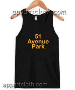 51 avenue park Adult tank top