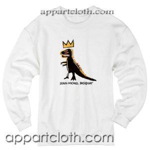 Basquiat Dinosaur Unisex Sweatshirt