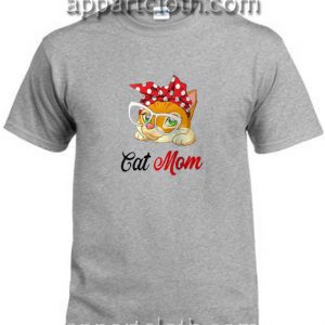 Cat bow head cat mom Funny Shirts