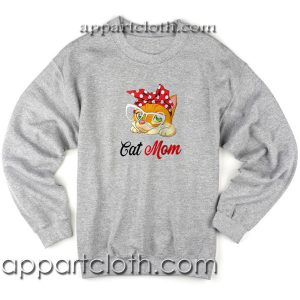 Cat bow head cat mom Unisex Sweatshirt