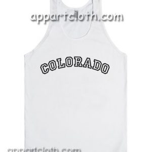 Colorado Adult tank top