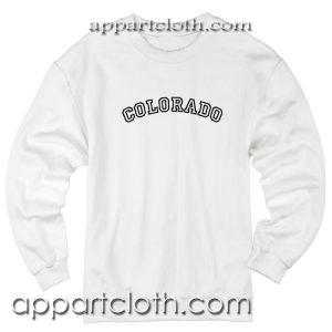 Colorado Unisex Sweatshirt
