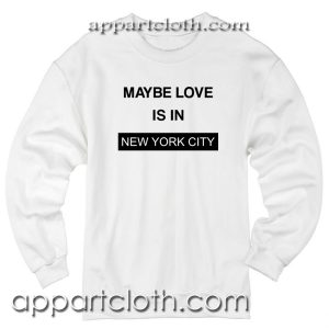 I Love NYC Unisex Sweatshirt