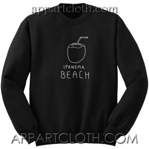 Ipanema beach Unisex Sweatshirt