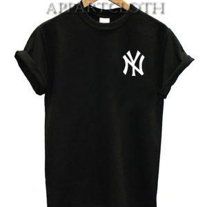 NY Logo Pocket Funny Shirts