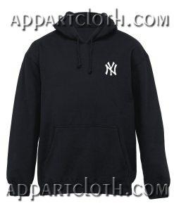 NY Logo Pocket Hoodie