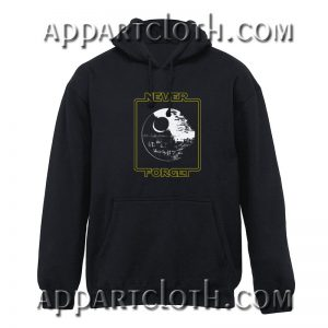 Star Wars Never Forget the Death Star Hoodie