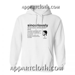 Stephen Amell Sinceriously Hoodie