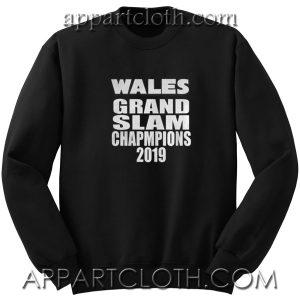 Wales Grand Slam 2019 Unisex Sweatshirt