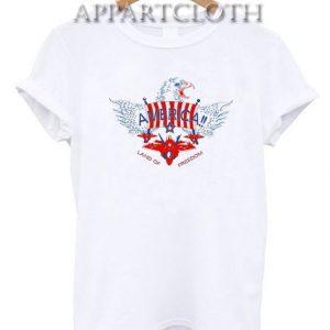 America Land of Freedom Unisex Tshirt