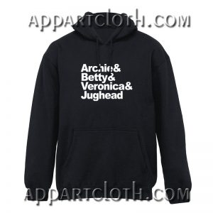 Archie comics betty veronica and jughead Hoodies