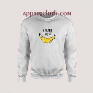 Banana Smile Unisex Sweatshirts