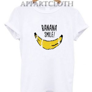 Banana Smile Funny Shirts