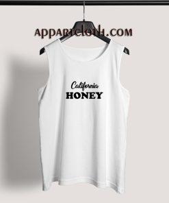 California honey Adult tank top