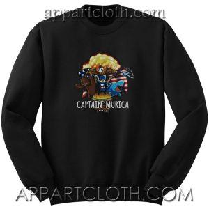 Captain Murica Unisex Sweatshirt