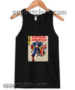Captain america Adult tank top