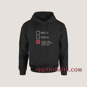 Game of thrones – Waiting For A Blonde With 3 Dragons Hoodies