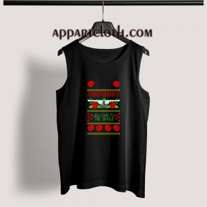 Guns n roses welcome to the jingle Adult tank top