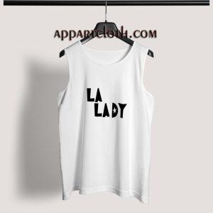 LA LADY Adult tank top