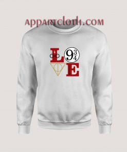 LOve Hary potter Unisex Sweatshirts
