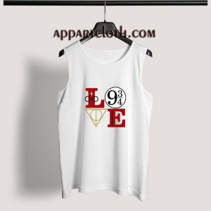 LOve Hary potter Adult tank top