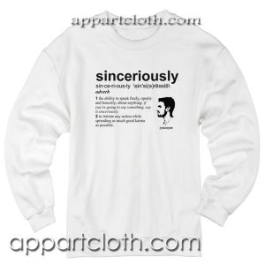 Stephen Amell Sinceriously Unisex Sweatshirt