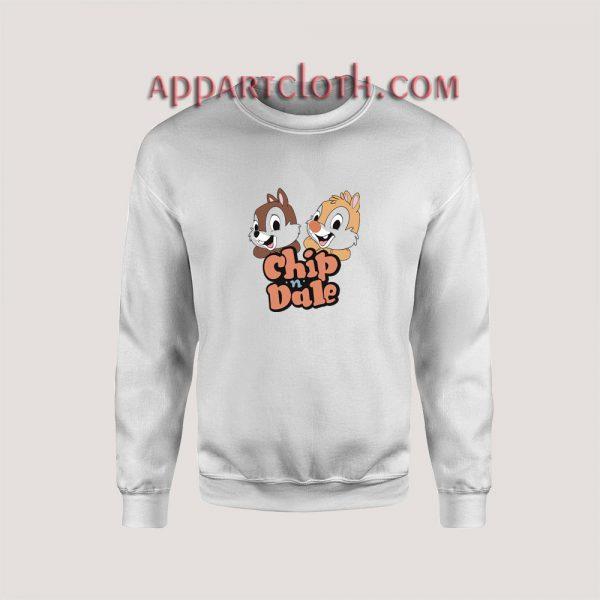 Vintage Disney Chip n Dale Unisex Sweatshirts
