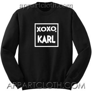 Xoxo Karl Unisex Sweatshirts