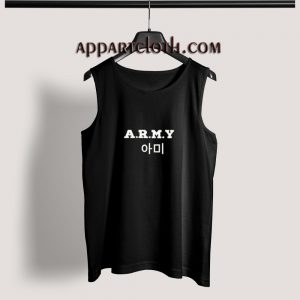 ARMY KPop Adult tank top