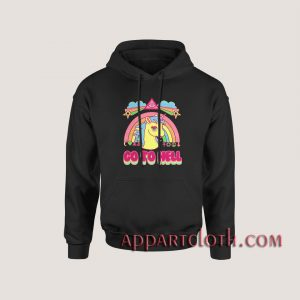 Go To Hell Unicorn Rainbow Hoodies