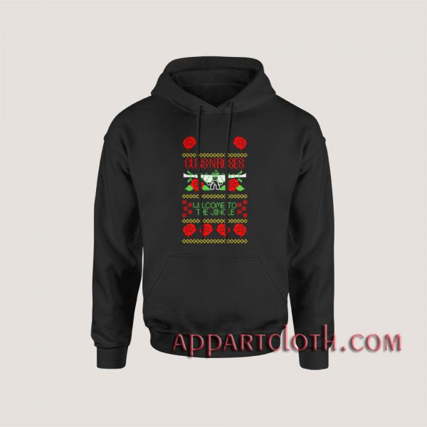 Guns n roses welcome to the jingle Hoodies