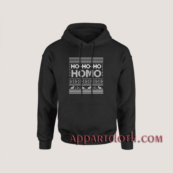 Ho Ho Ho Homo Hoodies
