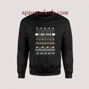 I Believe Mormon Book Christmas Unisex Sweatshirts