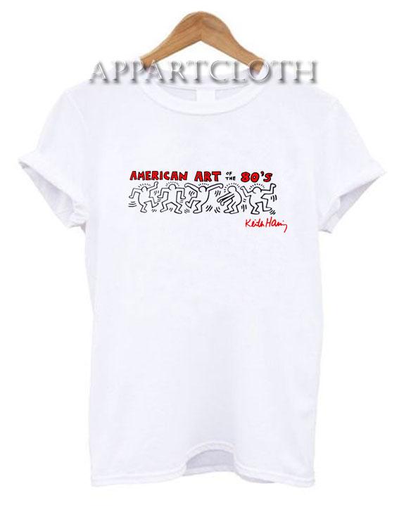 Keith Haring American Art Funny Shirts