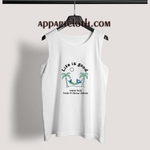 Life Is Good Grand Turk Adult tank top