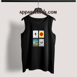 Loteria Cards Adult tank top