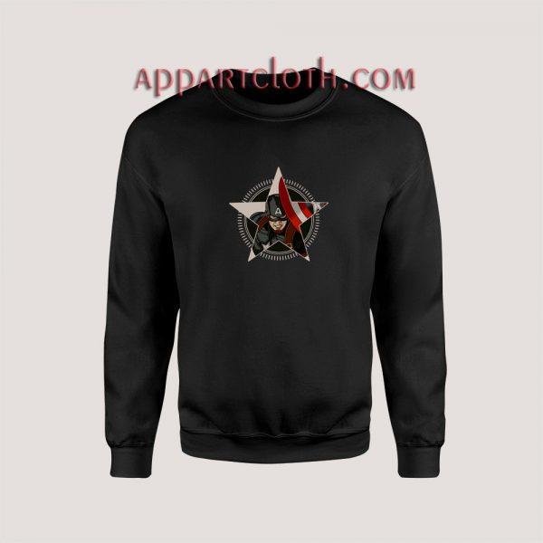 Marvel Studios Captain America Unisex Sweatshirts