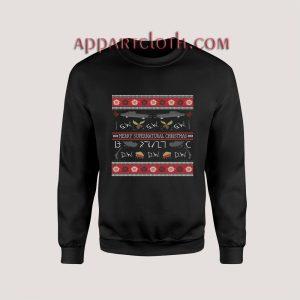 Merry Supernatural Ugly Christmas Unisex Sweatshirts