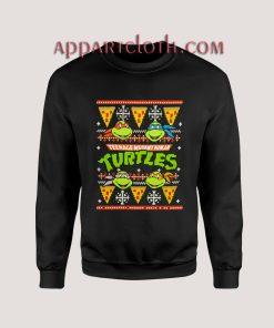 Ninja Turtles ugly christmas Unisex Sweatshirts
