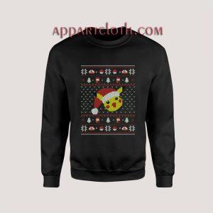 Pokemon Pikachu Funny Ugly Christmas Unisex Sweatshirts