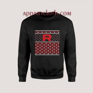 Pokemon R ugly christmas Unisex Sweatshirts