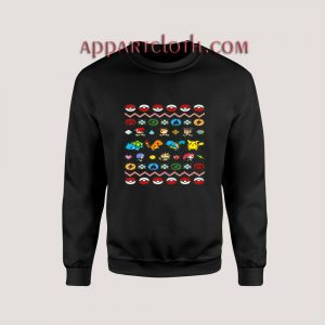 Pokemon all Ugly Christmas Unisex Sweatshirts