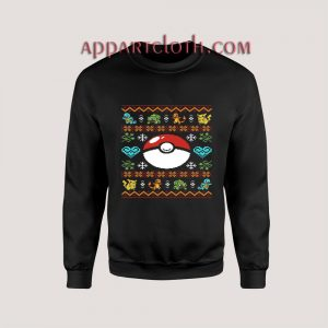 Pokemon gotta Ugly Christmas Unisex Sweatshirts