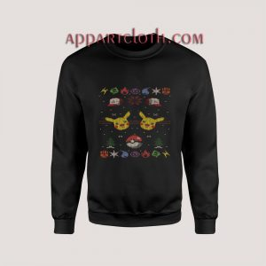Pokemon pikachu Ugly Christmas Unisex Sweatshirts