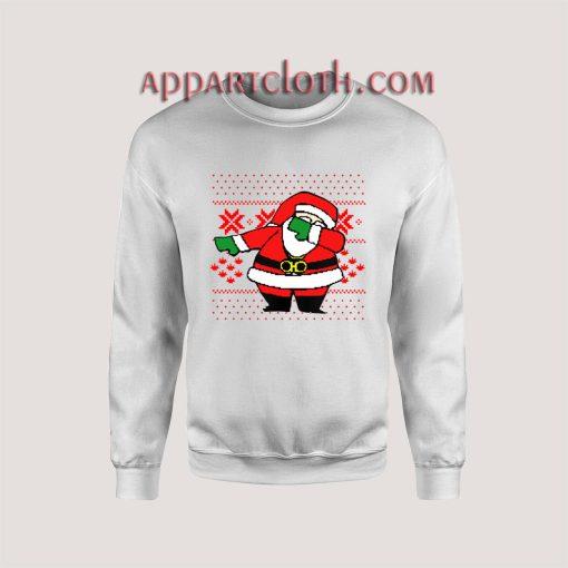 Santa Dab On Em Christmas Unisex Sweatshirts