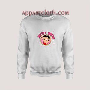Vintage Betty Boop Unless Unisex Sweatshirts