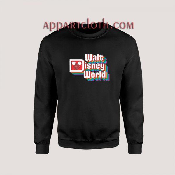 Vintage Walt Disney Logo Unisex Sweatshirts