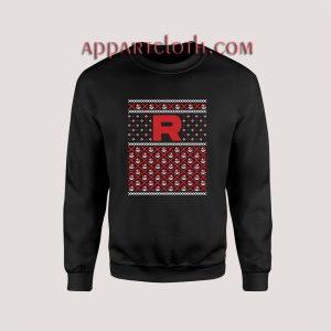 A Team Rocket Christmas Unisex Sweatshirts